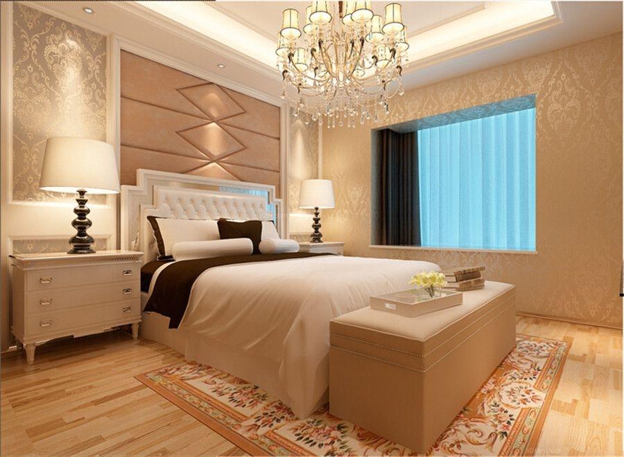 四居室简欧风格主卧室图片