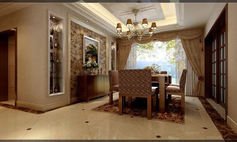 丰瑞公园三居室现代风格——呼市鼎盛创典装饰