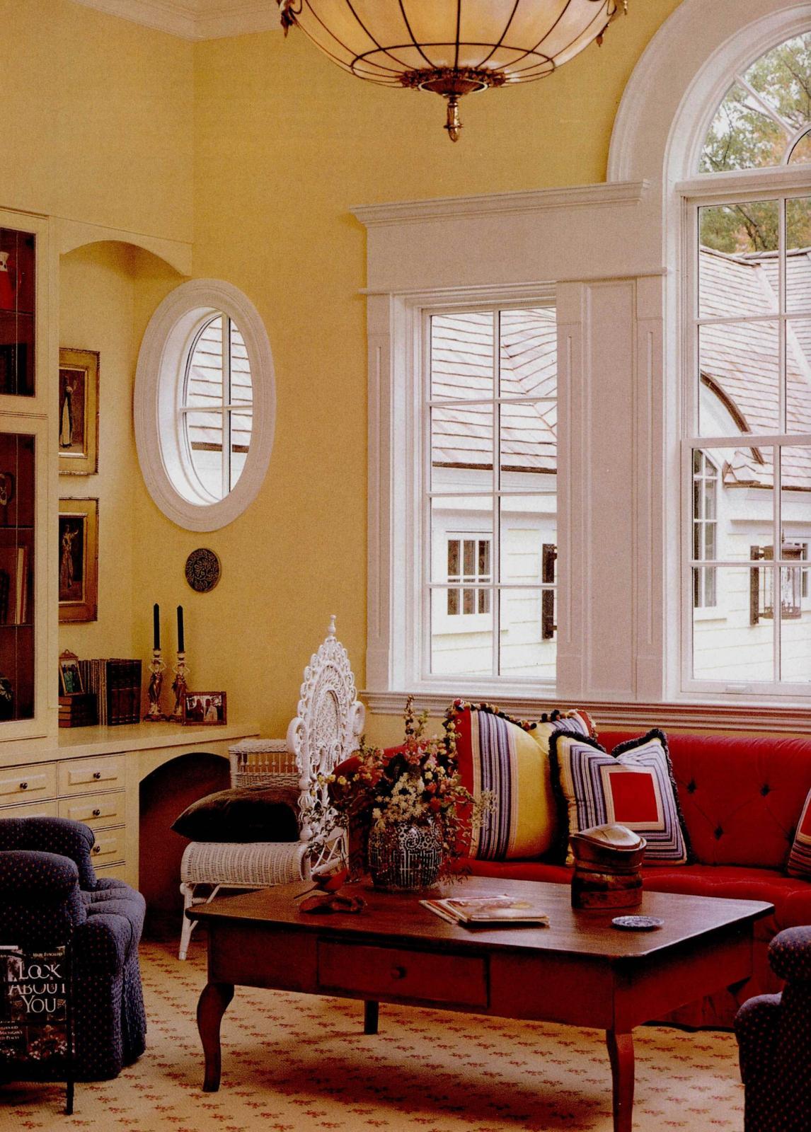 大户型美式风格客厅_不失自在与随意的风格装修效果图图片