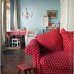 红色婚房设计