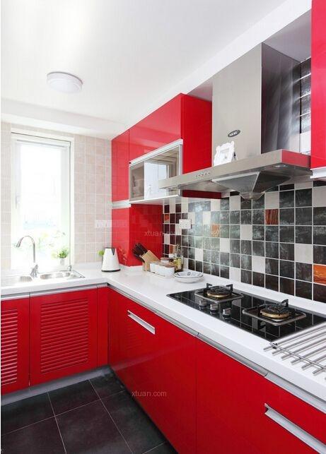 三居室现代简约厨房
