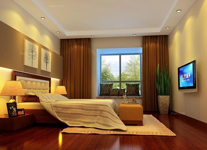 三室两厅简欧风格主卧室