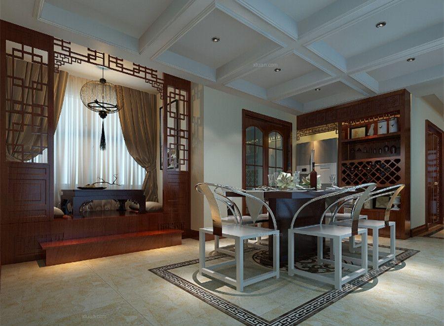 川豪装饰之家天下清新中式风