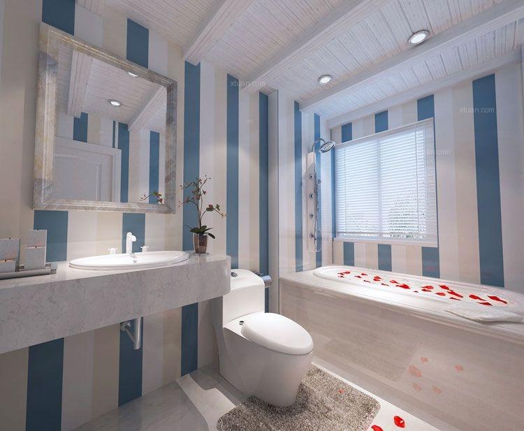 两室一厅地中海风格卫生间