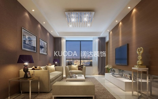 盘龙区万宏国际90平方米现代风格中户型5.9万元