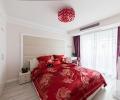 红色喜庆婚房设计
