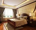 京铁和园150平米古朴时尚的五口之家