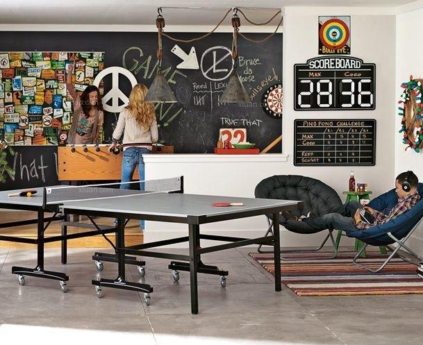 38款家庭黑板墙设计,是创意还是凌乱?
