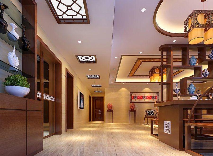 龙湖水晶丽城 中式风格 案例欣赏