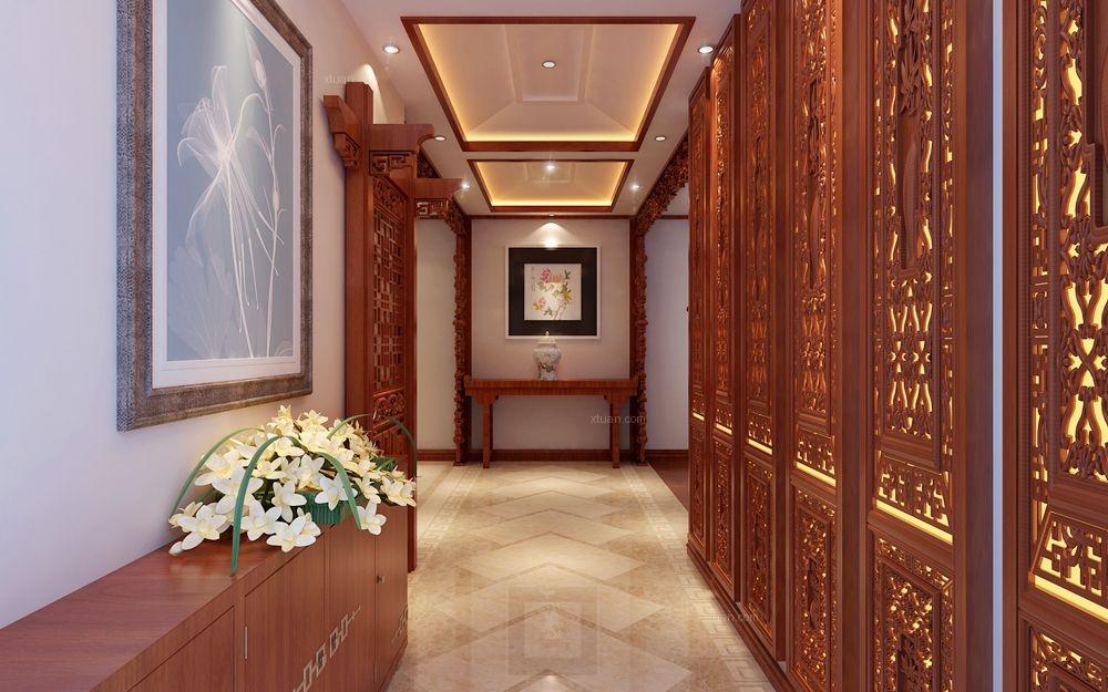 西山壹号院-180平-中式风格装修设计案例
