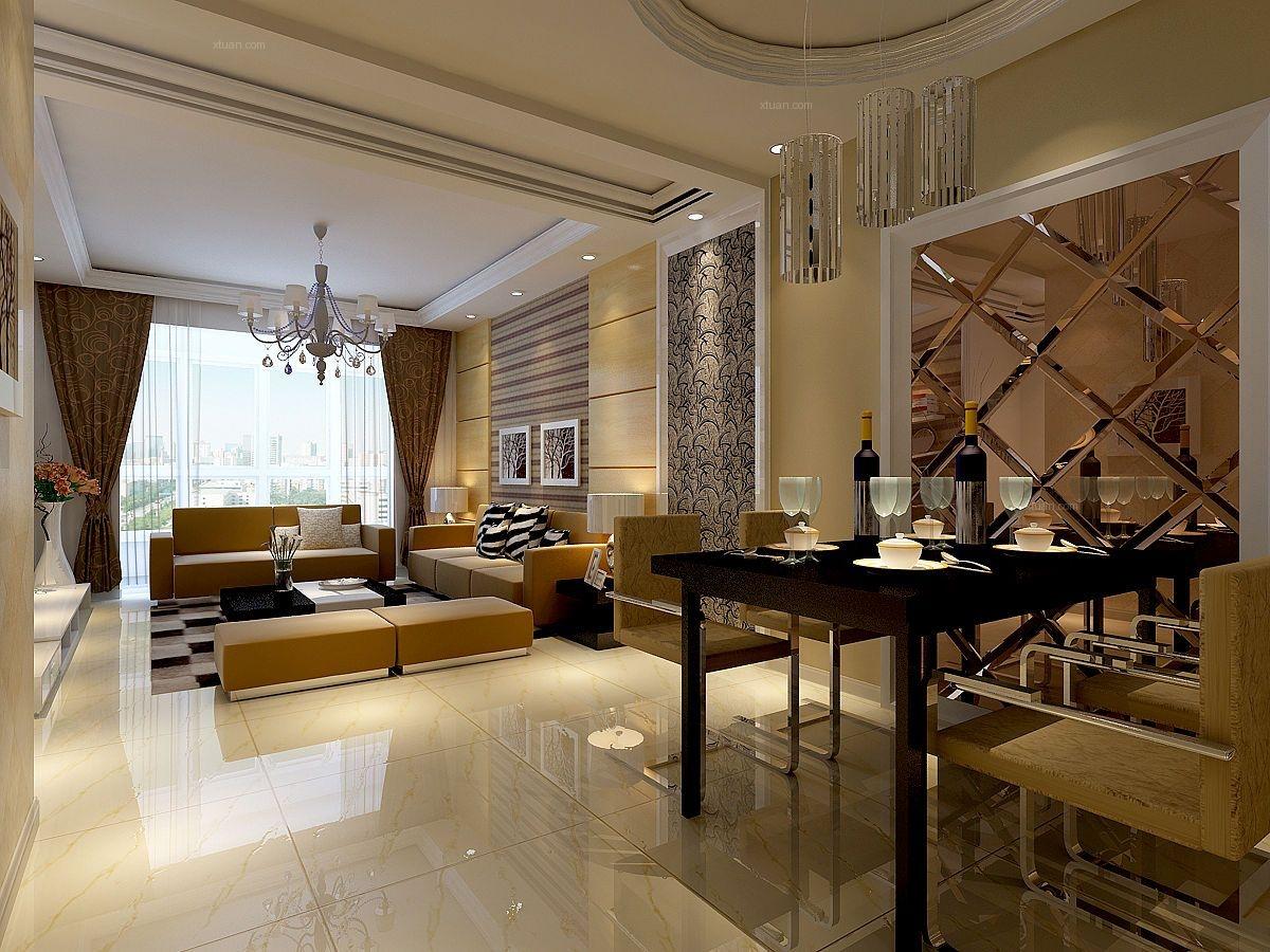 三室两厅简约风格餐厅
