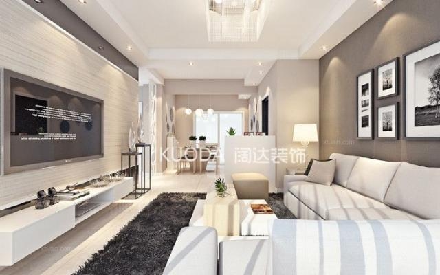 官渡区融城金阶84平方米现代风格中户型5.6万元