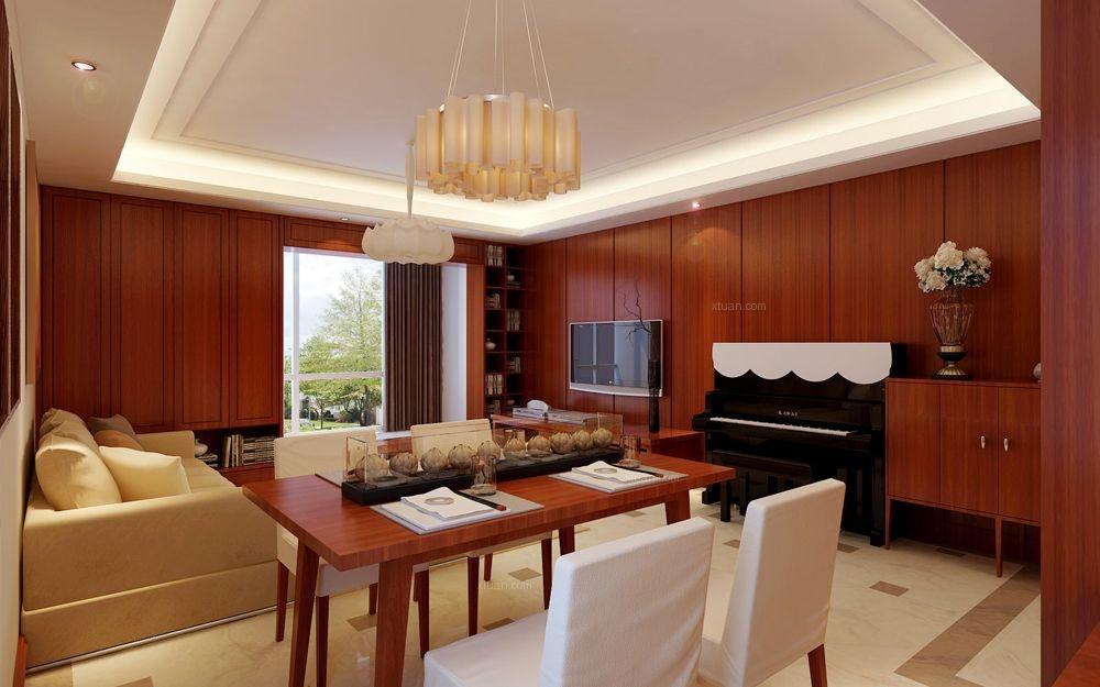 中信城-140平-新中式风格装修设计案例