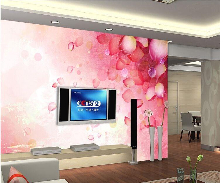 三居室婚房电视背景墙