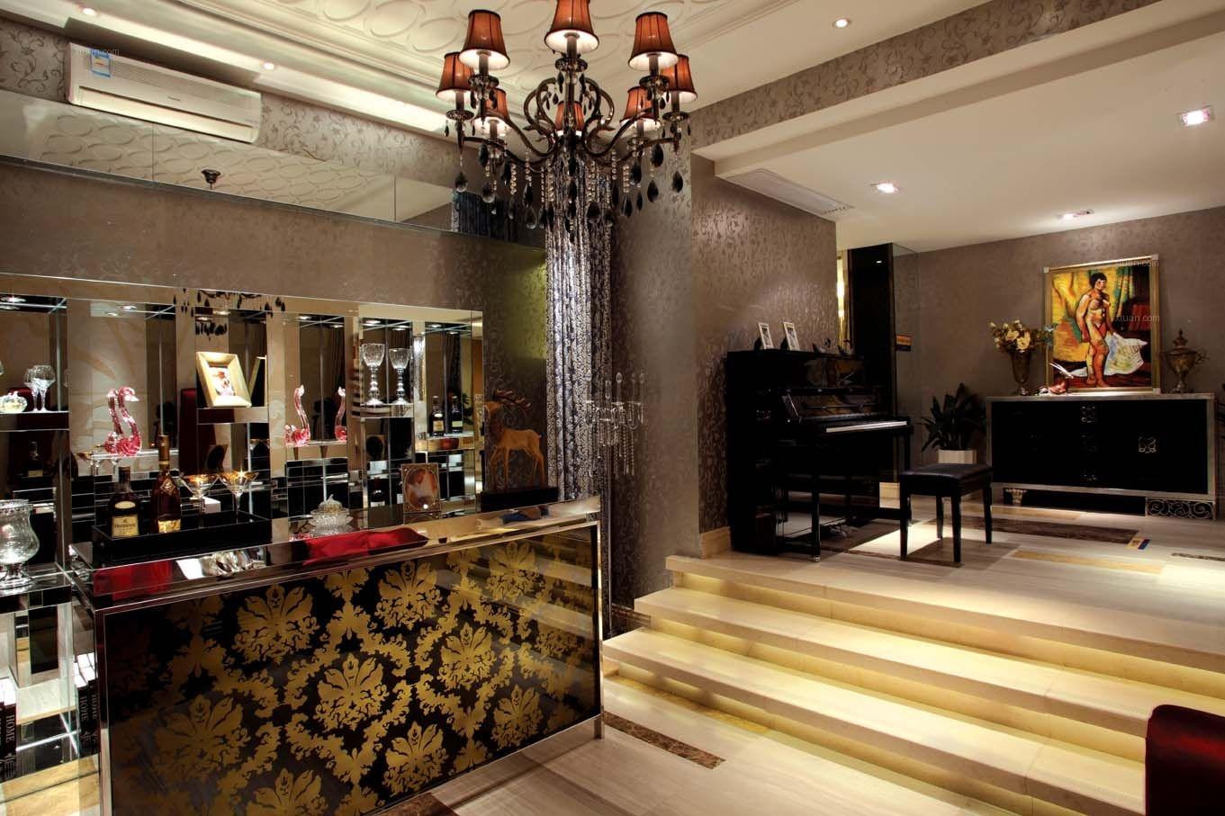三室一厅古典风格客厅