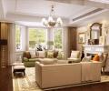 帝景别墅-450平别墅-欧式风格装修设计案例