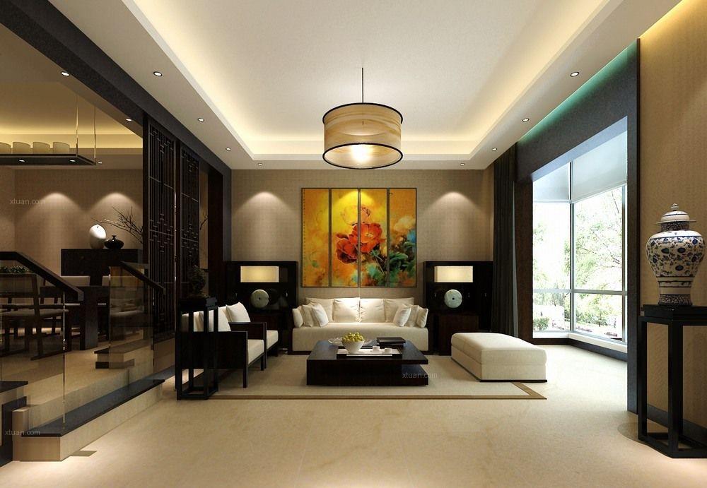 孔雀城-315平别墅-新中式风格装修设计案例