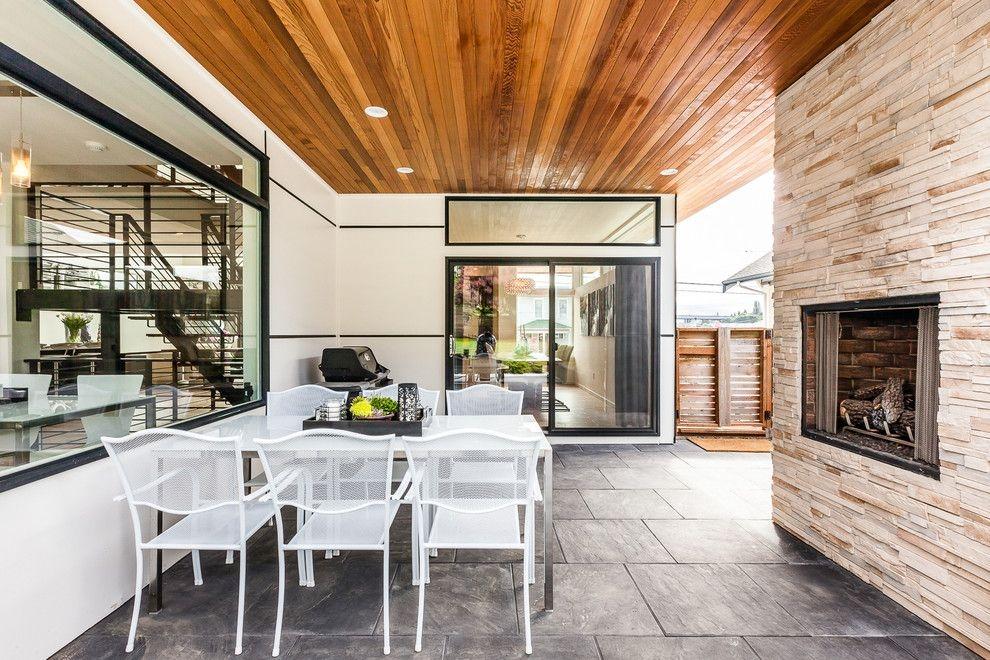 别墅现代风格休闲区