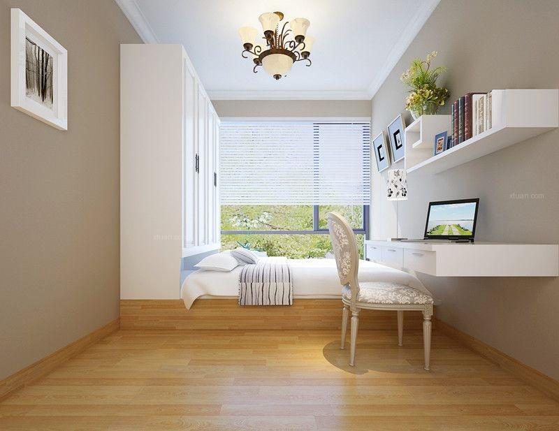 三室一厅混搭风格小卧室榻榻米