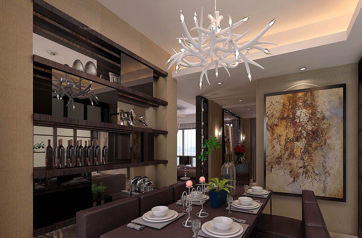 四居室欧式风格餐厅照片墙