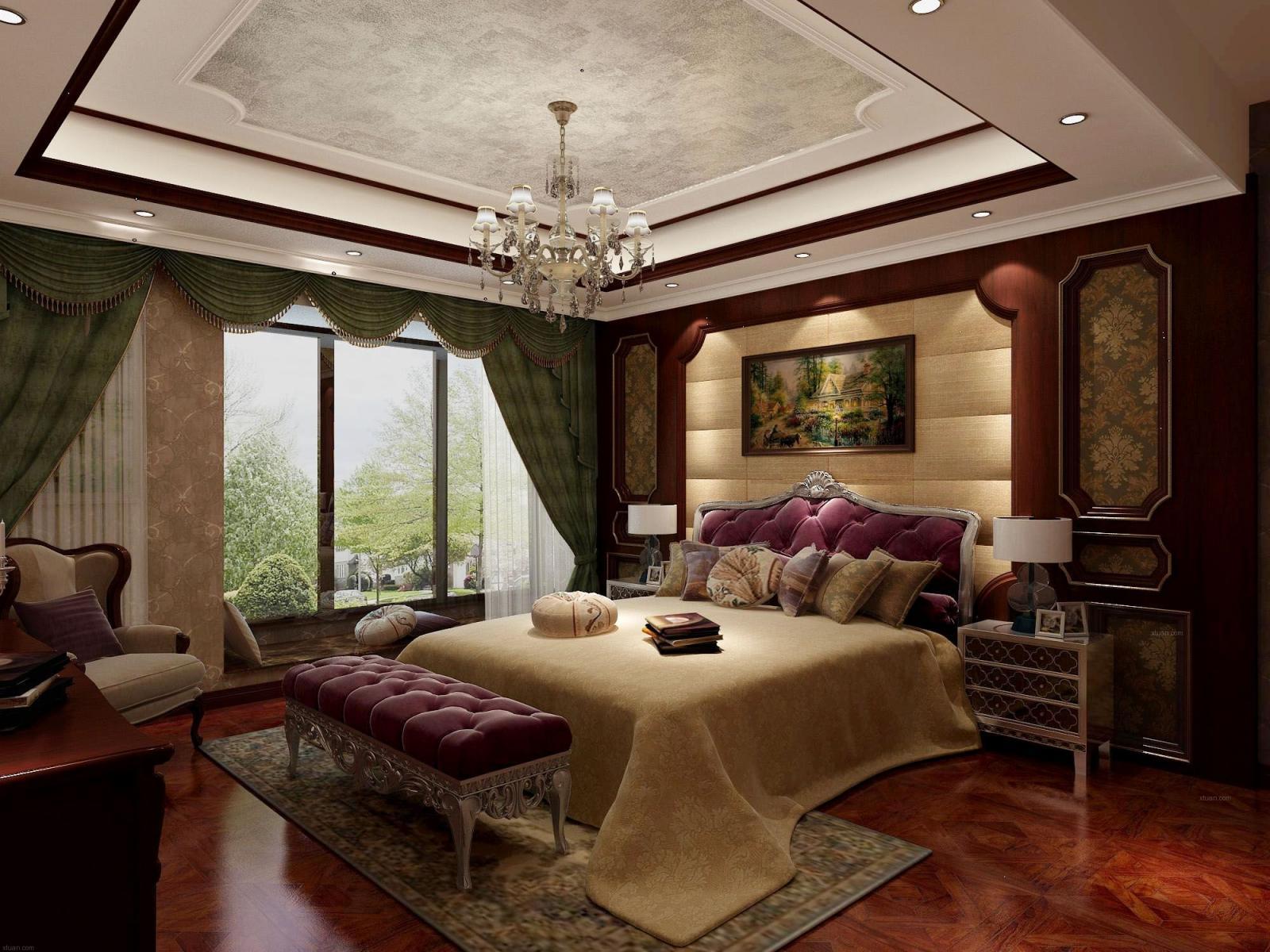 三居室新古典卧室