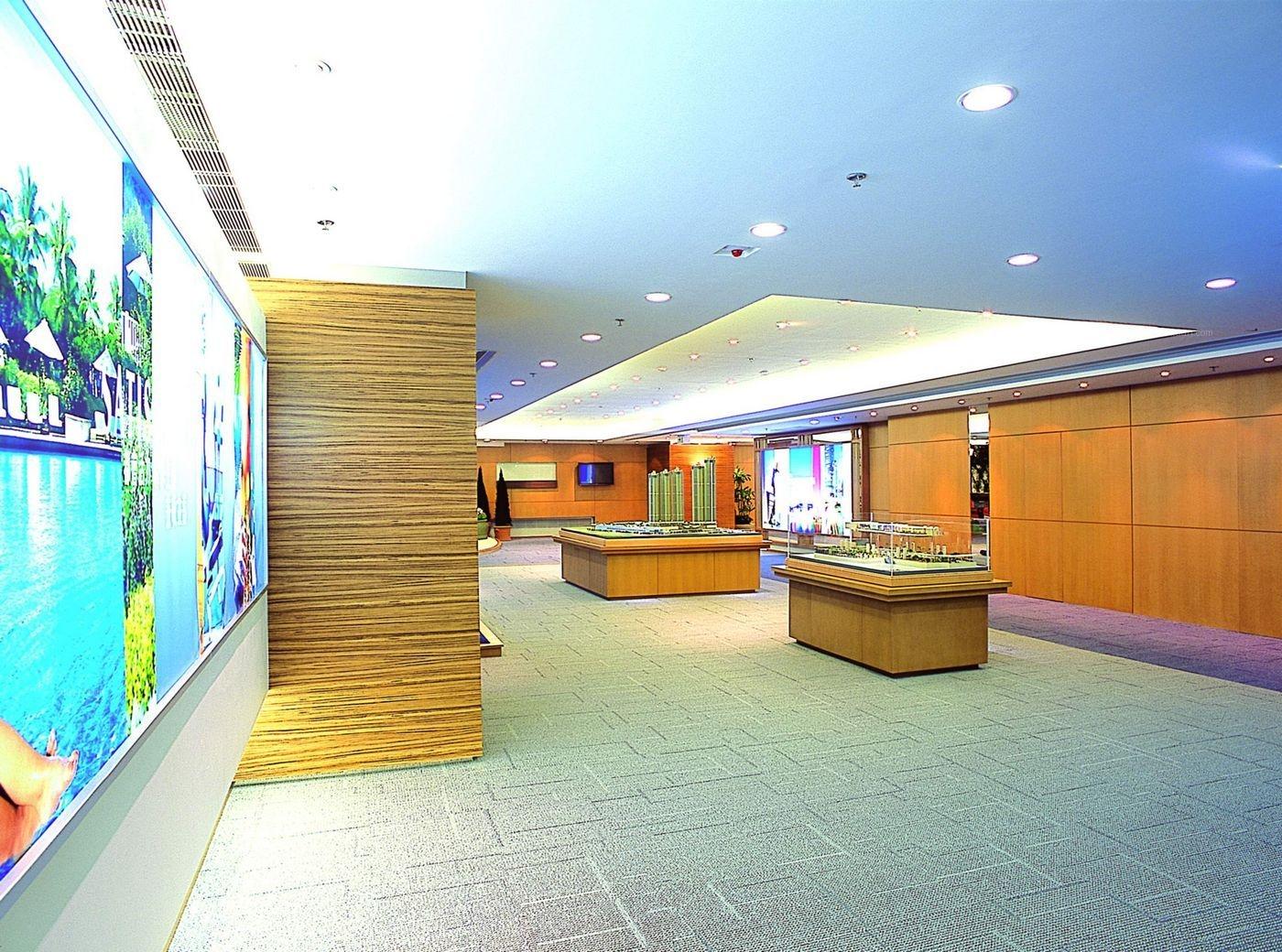 现代风格售楼中心