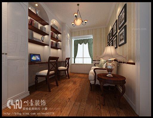 三室两厅田园风格卧室