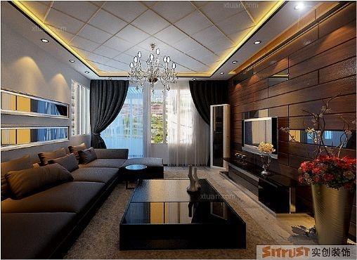 超现代单身公寓装修效果图