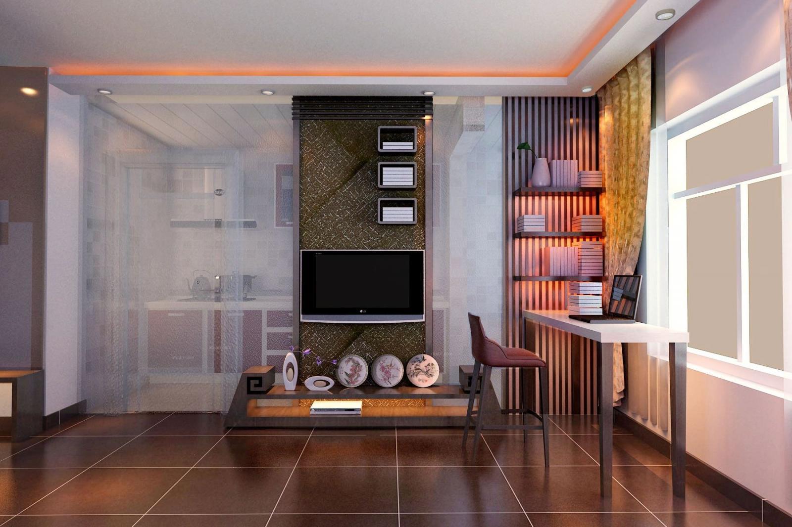 一室一厅中式风格客厅