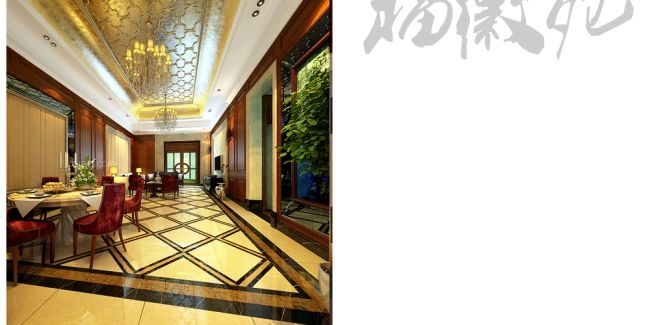 复式楼欧式风格客厅_滨湖福徽苑300平方 欧式装修效果