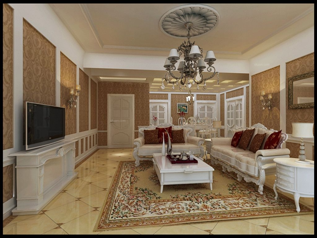 复式楼客厅图片