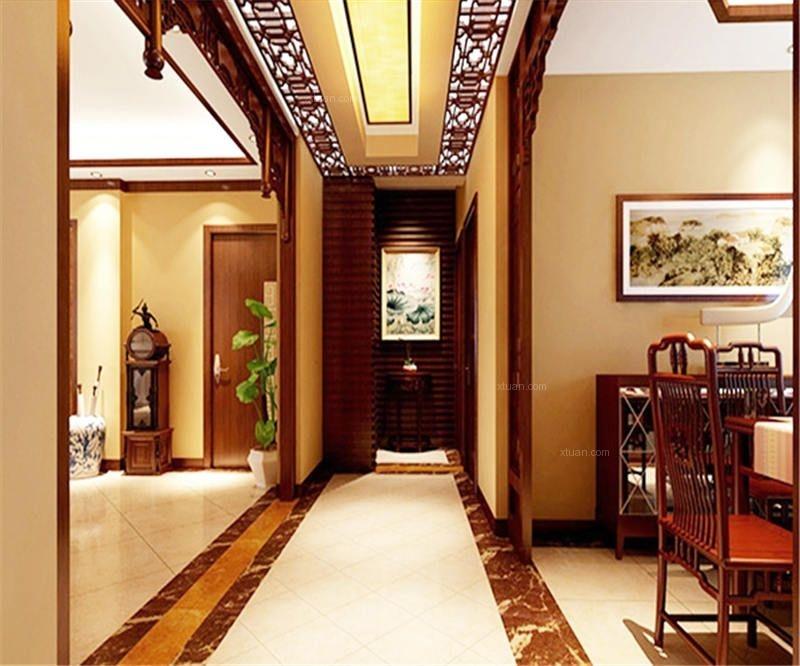 最新别墅设计效果图中式风格
