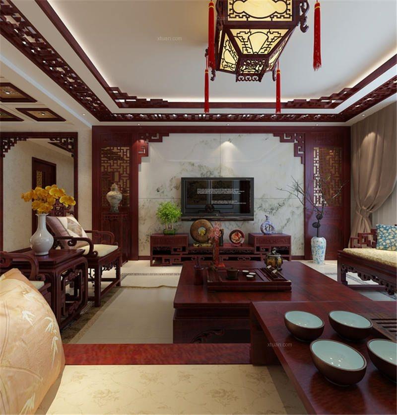 中国风中式别墅装修设计