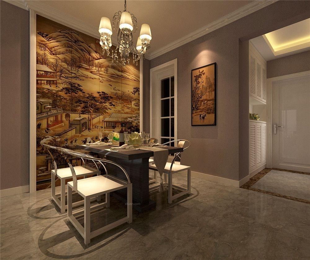 瑞和家园-95平米-新中式风格-装修设计