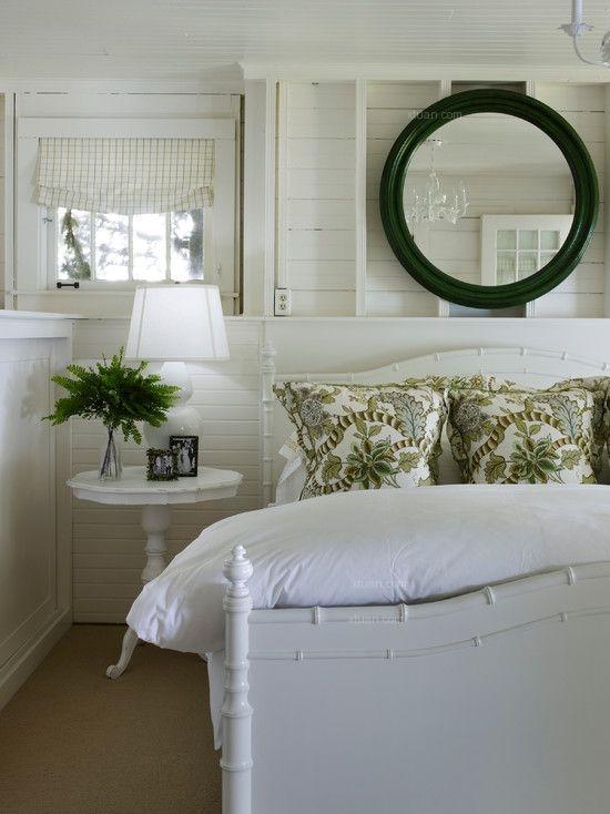 复式楼地中海风格卧室