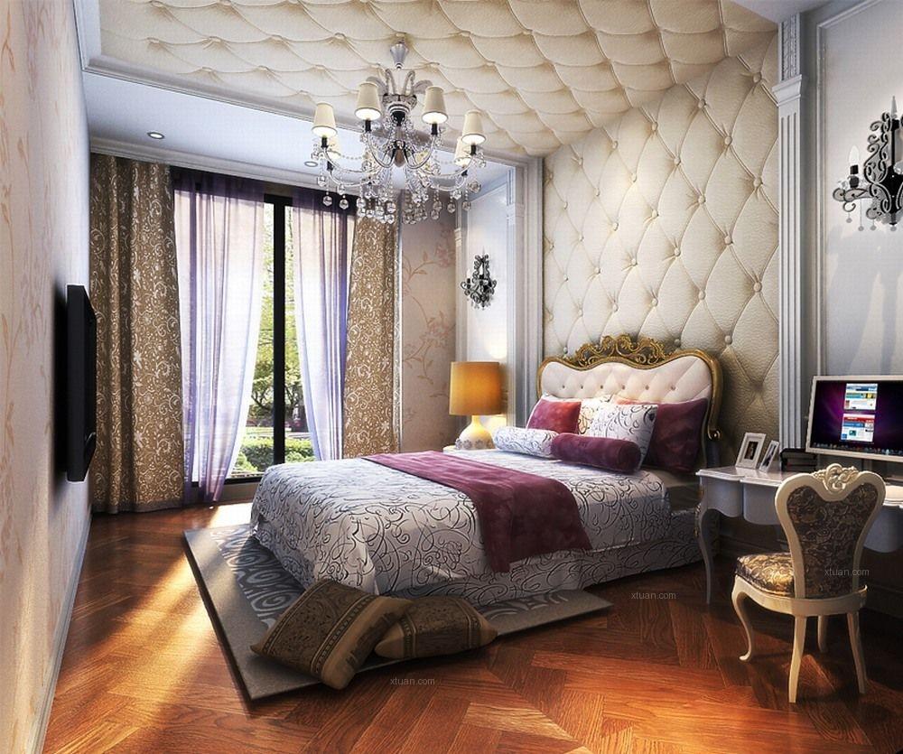 复式楼新古典卧室