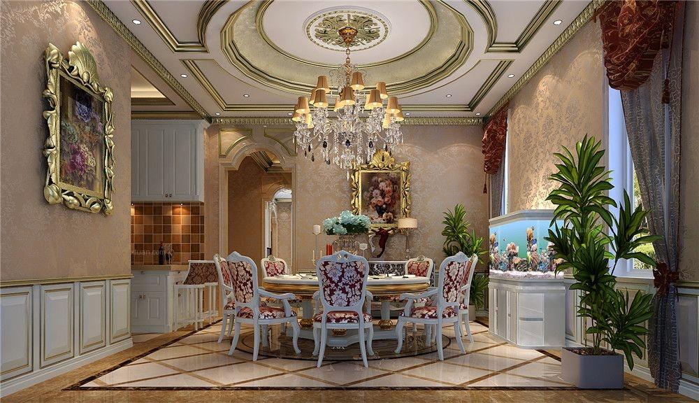 大户型新古典餐厅