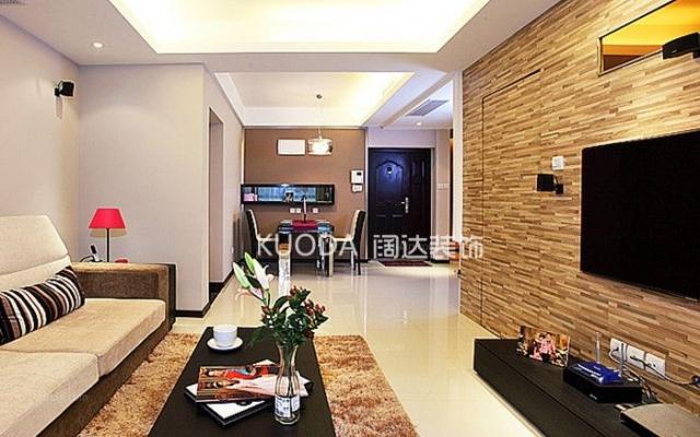 盘龙区滨江俊园113平方米现代风格中户型7.5万元