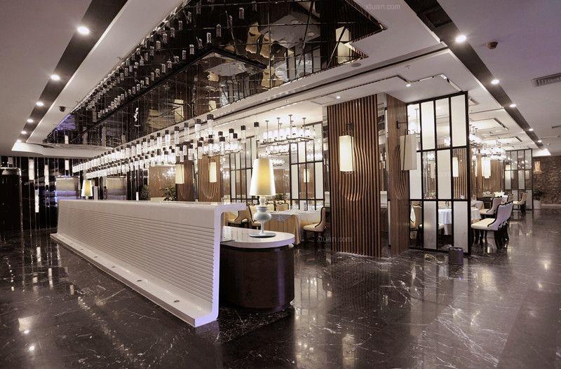 火锅餐厅设计-顺风景庐肥牛火锅餐厅