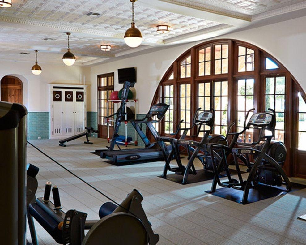 健身房设计装修效果图