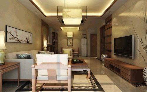 两居室新古典客厅软装