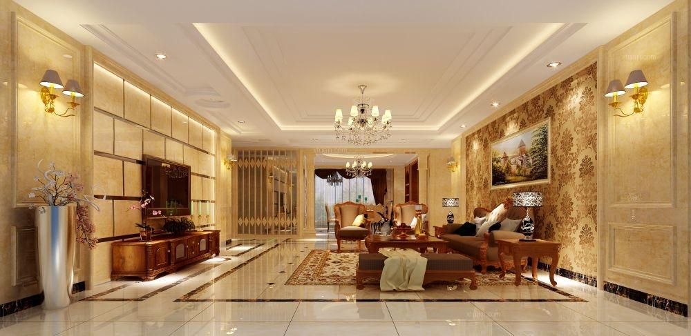 大户型欧式风格客厅厨具