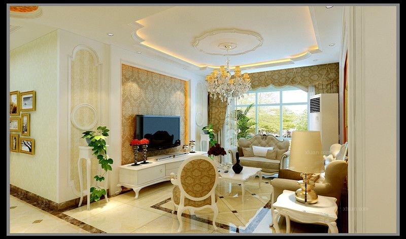 设计理念:欧式的居室有的不只是豪华大气,更多的是意境和浪漫。通过完美的曲线,精益求精的细节处理,带给家人不尽的舒适触感,实际上和谐是欧式风格的最高境界。同时,欧式装饰风格最适用于本套大面积房子,若空间太小,不但无法展现其风格势气,反而对生活在其间的人造成一种压迫感。当然,还要具有一定的美学素养,才能善用欧式风格,否则只会弄巧成拙。 隐藏更多