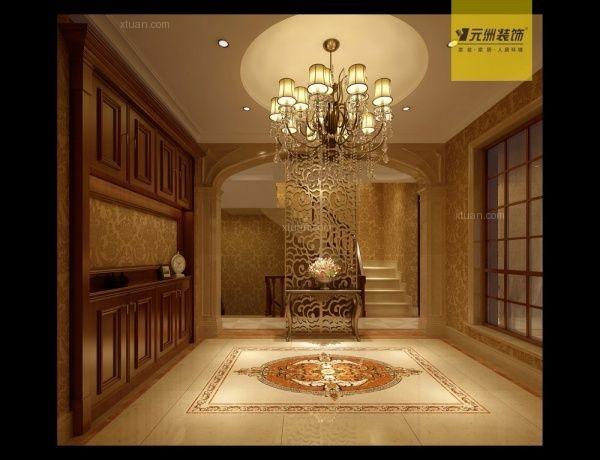 重庆元洲装饰欧式古典风