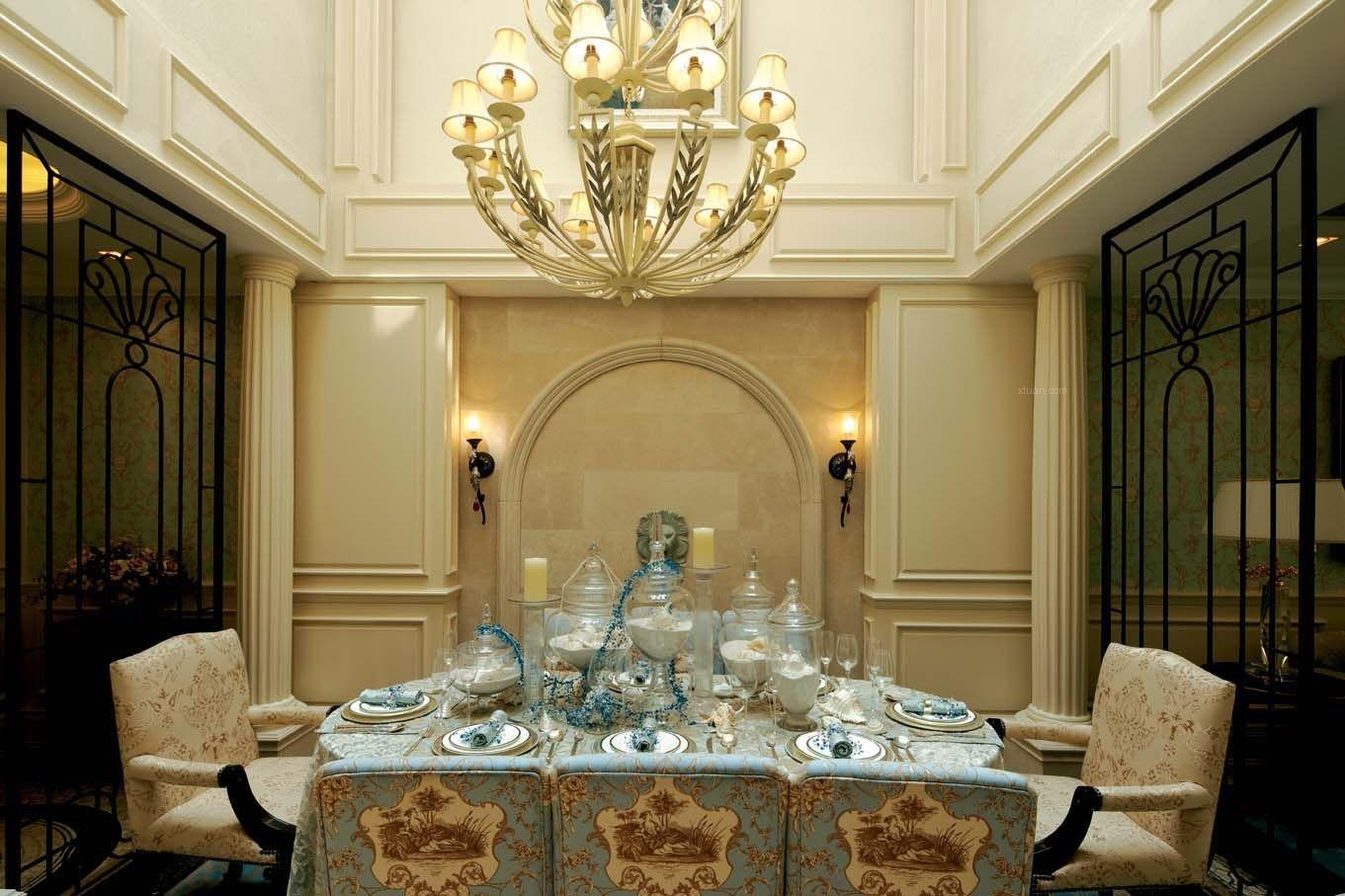 大户型欧式风格餐厅