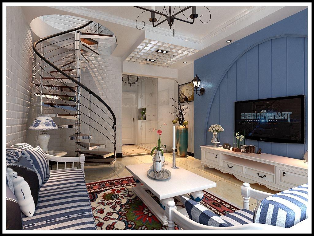 地中海 單身公寓 效果圖