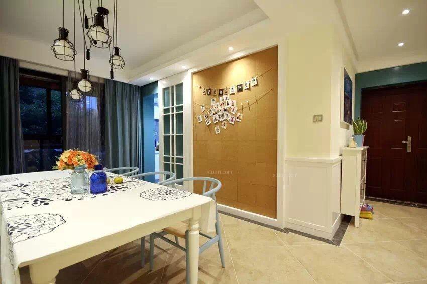 三室一厅地中海风格客厅