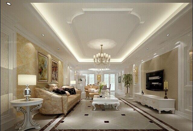别墅法式风格客厅