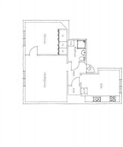 两室一厅现代简约休闲区