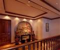 富丽华贵中式设计二层别墅效果图